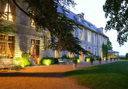 The exterior of Chateau de Noirieux, one of GAYOT's Top 10 Hotels in Loire Valley, France