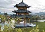 Pagoda at Banyan Tree Lijiang