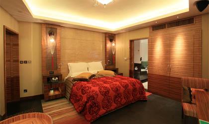 A room at Pousada de São Tiago in Macau, China
