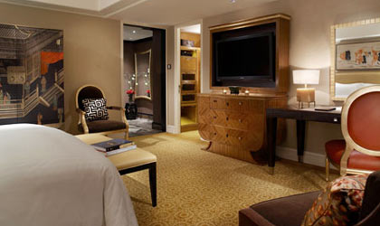 A room at St. Regis Hotel, Beijing