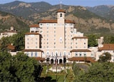 Exterior of The Broadmoor, Colorado Springs