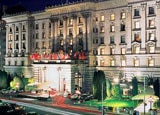 Exterior of the Fairmont San Francisco, California
