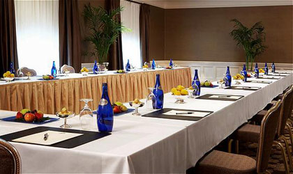 A meeting room at The Fairmont San Francisco in California