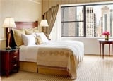 A guest room at The New York Palace in NYC