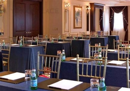 A meeting room at The New York Palace in NYC