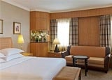 A  guest room at Sheraton Ankara Hotel & Convention Center