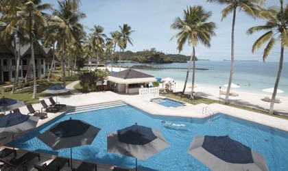 Palau Pacific Resort in the Republic of Palau: island living and top diving!