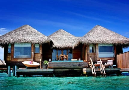 Accommodations at Huvafen Fushi in Maldives