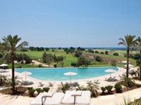 The outdoor pool of Donnafugata Golf Resort & Spa in Italy