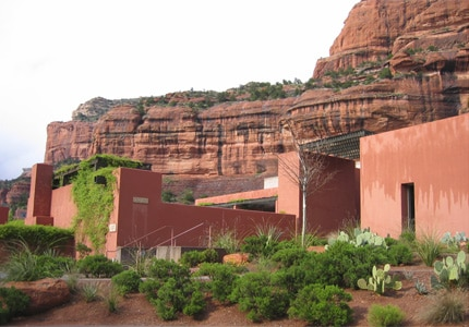 Explore the red rock canyons that surround the Enchantment Resort, one of GAYOT's Top 10 Hotels in Sedona/Flagstaff, Arizona