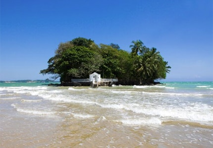 Taprobane Island in Sri Lanka, one of GAYOT's Top 10 Extreme Hotels