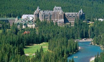 Styled after a Scottish baronial castle, The Fairmont Banff Springs is a symbol of Rocky Mountain magnificence.