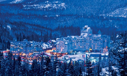 The Chateau at the Base of Blackcomb Mountain