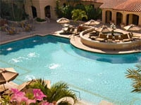 The Cascata pool at Turnberry Isle in Aventura, Florida
