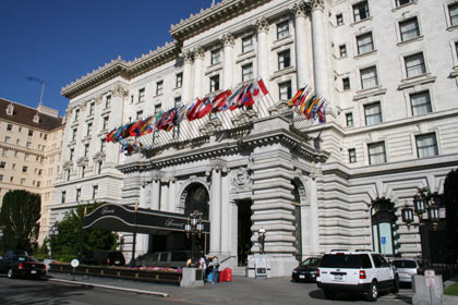 The century old Fairmont San Francisco in California