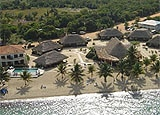 Aerial view of Jaguar Reef Lodge
