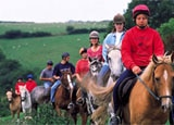 Horseback riding at Bovey Castle