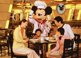 Dinner with Mickey at the Tokyo Disney Resort