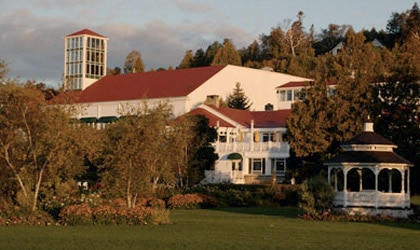 Mission Point Resort on Mackinac Island in Michigan