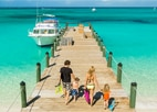 Enjoy a private family snorkel trip at Beaches Turks & Caicos, one of GAYOT's Top 10 Family Resorts Worldwide
