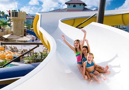 Beaches Turks & Caicos is home to a 45,000-square-foot water park and is one of GAYOT's Top 10 Family Resorts Worldwide