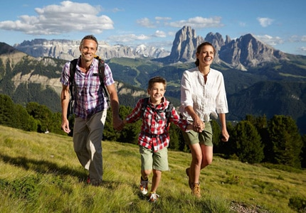 Cavallino Bianco in Italy is ideal for families vacationing in the Dolomites