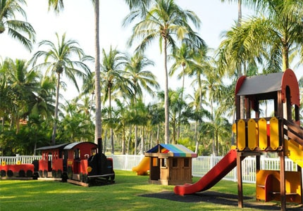 The playground at Club Med Ixtapa Pacific in Mexico