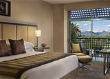 A guest room at the Hyatt Regency Scottsdale Resort and Spa at Gainey Ranch