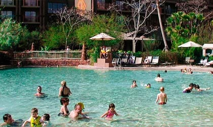 Disney's Animal Kingdom Lodge in Buena Vista, Florida