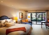 A guest room at the Ojai Valley Inn & Spa