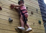 Earthshine Mountain Lodge offers rock-climbing classes for kids