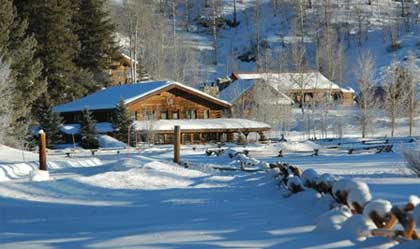 Vista Verde in Steamboat Springs, Colorado in wintertime