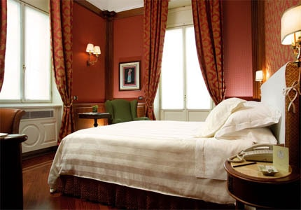 A guest room at Montebello Splendid in Florence, Italy