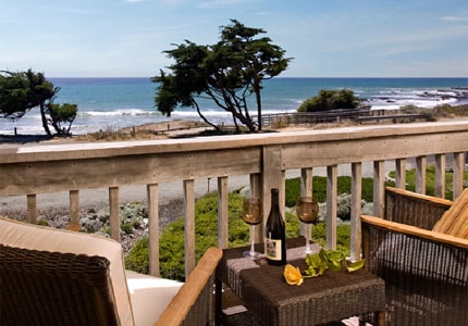 FogCatcher Inn in Cambria, one of the Top 10 Boutique Hotels on California's Central Coast