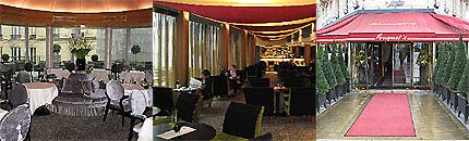 Hôtel Fouquet's Barrière Paris, The Restaurants