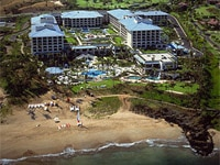 A beach-front location at Four Seasons Resort Maui at Wailea in Hawaii