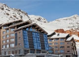 The exterior of Altapura in Val Thorens, France