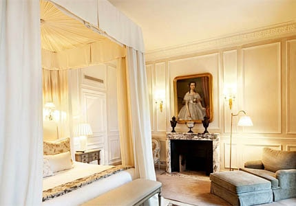 A room at Château Les Crayères, one of GAYOT's Top 10 Hotels in France