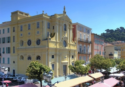 The exterior of Le Negresco in Nice