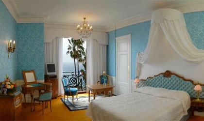 A room at Le Negresco in Nice