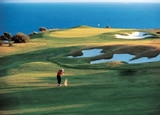 The greens at the InterContinental Aphrodite Hills Resort in Greece