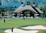 Great golfing at the Fairmont Chateau Whistler in Canada