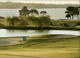 The greens at the Formosa Golf Resort in New Zealand