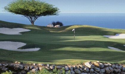 Hole #17 at The Ritz-Carlton Golf & Spa Resort, Rose Hall, Jamaica