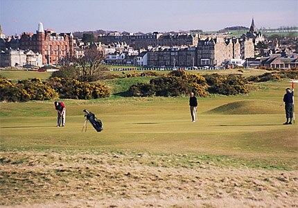 Golf is said to have originated on St. Andrews' Old Course at Old Course Hotel Golf Resort & Spa