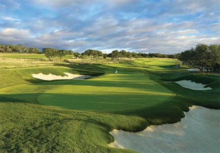 The golf course at JW Marriott San Antonio Hill Country Resort & Spa plays host to the Valero Texas Open on the PGA Tour