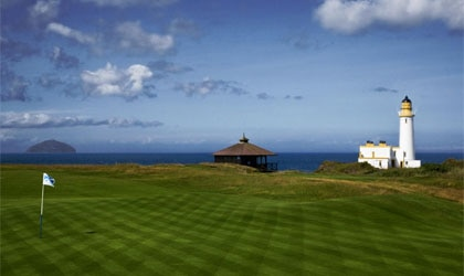 Breathtaking views from the greens at Turnberry, A Luxury Collection Resort, Scotland