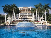 Exterior of the Grand Wailea in Maui, Hawaii
