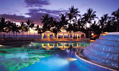 The Hibiscus Pool at the Grand Wailea in Maui, Hawaii