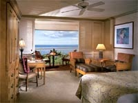 Ocean View Room at the Grand Wailea in Maui, Hawaii